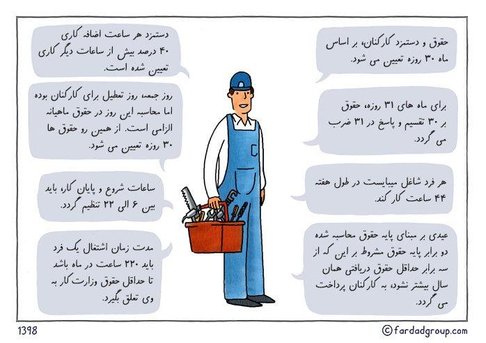 قوانین حقوق و دستمزد