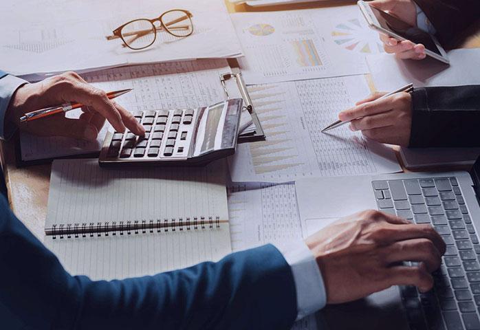 ترازنامه در حسابداری بازرگانی