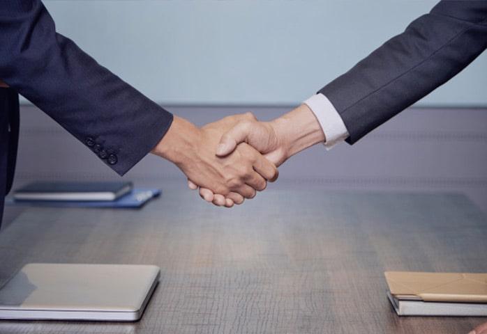 قرارداد کار بین دو نفر