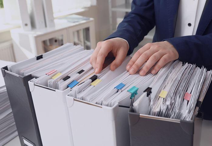 روش سنتی در اصول بایگانی پرونده های پرسنلی