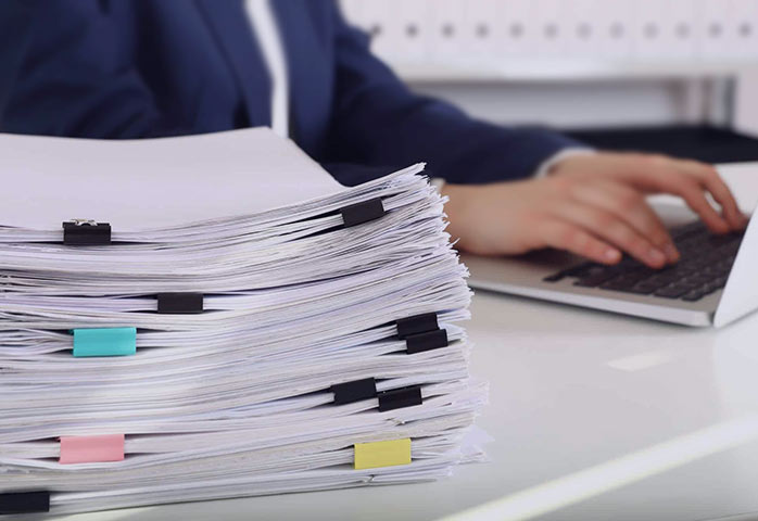 لیست اموال تحویلی در اصول بایگانی پرونده های پرسنلی